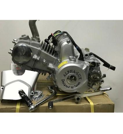 Двигатель 72,110,125см3 на мопед Альфа, Дельта, Актив.Мотор 72,110,125