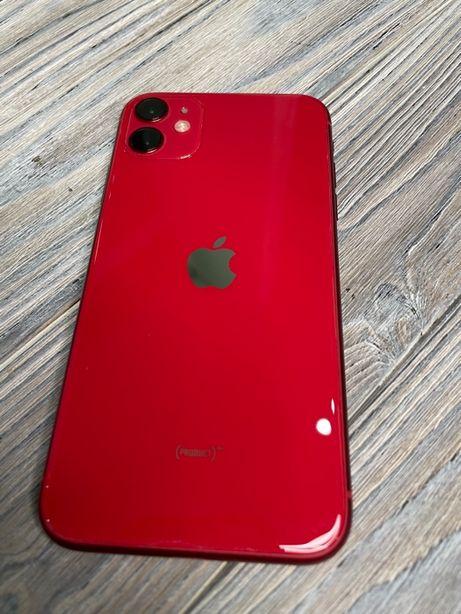 iPhone 11 64 red идеальный гарантия магазин EMOJIESTORE РАССРОЧКА 550$