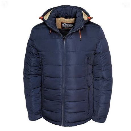 Зимняя теплая мужская куртка Flansden / парка / пуховик