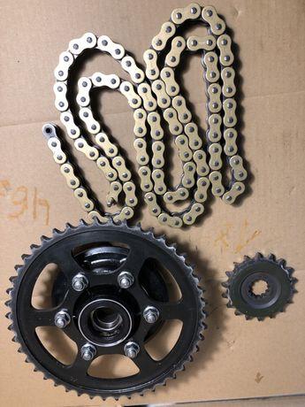 Napęd zębatka łańcuch Kawasaki Zx 12 r części