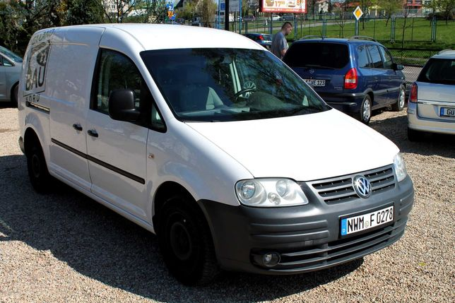 VW Caddy 1.9 TDI 105 KM Maxi Long ! Niemcy !