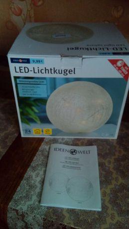 LED светильник ночник Ideen Welt P8-RM-LGBB (Big)