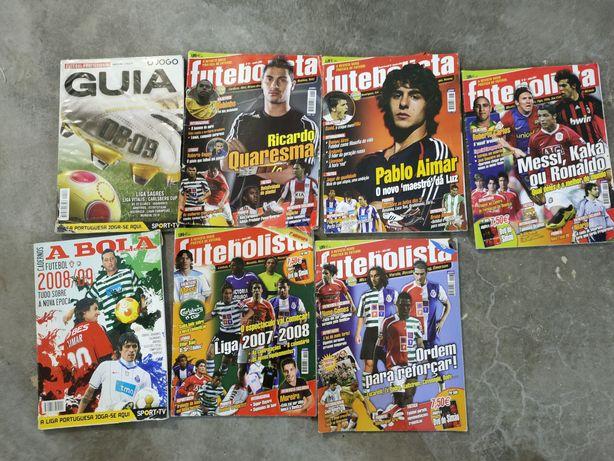 Revistas Futebol Antigas
