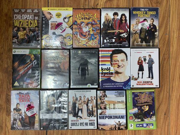 Gry i filmy DVD oddam za darmo