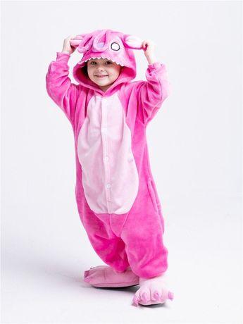 Кигуруми пижама Единорог Стич Панда Пикачу Тигр