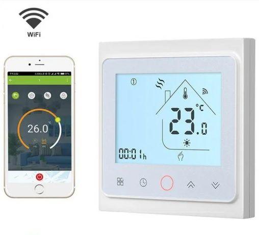 Терморегулятор для теплого пола с управлением по WIFI