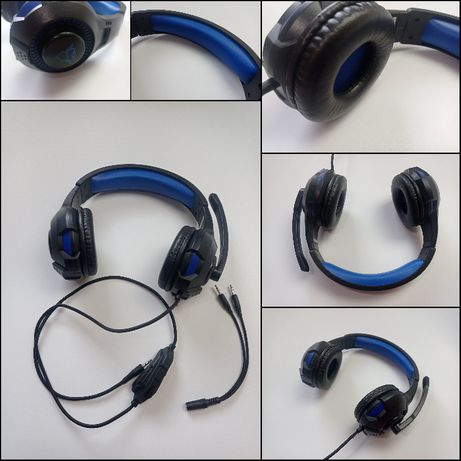Trust GXT 307B RAVU - 23250 - Słuchawki przewodowe z mikrofonem