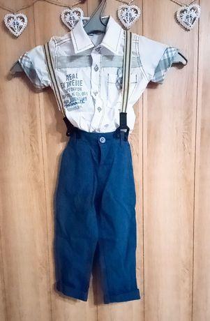 Рубашка со штанами и кофтой(2-3года)