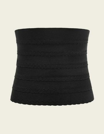 gorset corset czarny xs shein bielizna modelująca