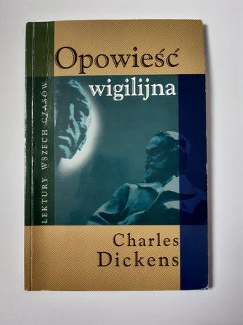 Książka opowieść wigilijna Charles Dickens