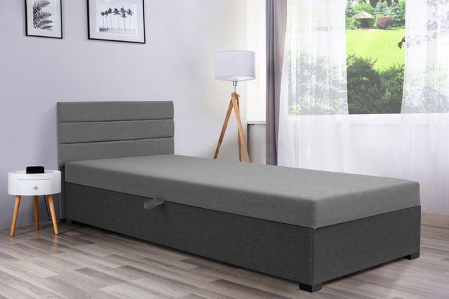 Łóżko hotelowe jednoosobowe, tapczan pojemnik na POŚCIEL GRATIS HURT24