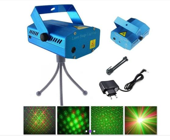 Лазерный проектор Диско LASER 2in1