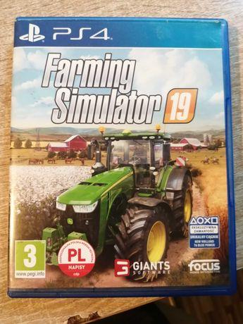 Gra ps4 Farming Simulator 19 pl lub zamienię na inną gre