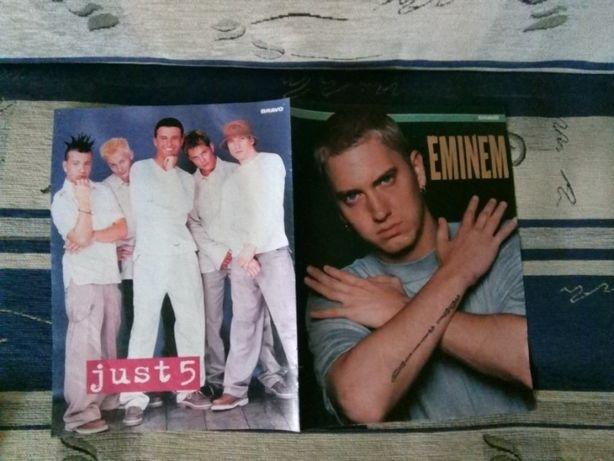 Plakaty różne. Anna, Wyszkoni, Władca pierścieni, Just 5, Eminem