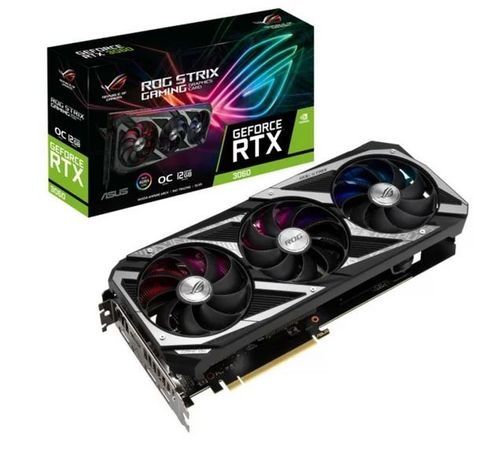 ASUS GeForce RTX 3060 ROG Strix OC Edition 12GB GDDR6 FV23, od ręki