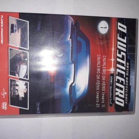 3 DVDs Knight Rider O Justiceiro