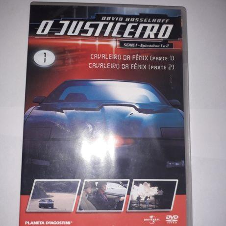 DVD Knight Rider O Justiceiro
