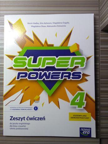 Ćwiczenia j. Angielski klasa 4 Super Powers Nowa Era