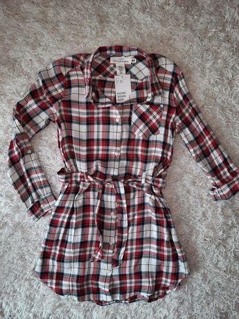 H&M nowa sukienka szmizerka 10-11 nowa rozmiar 146