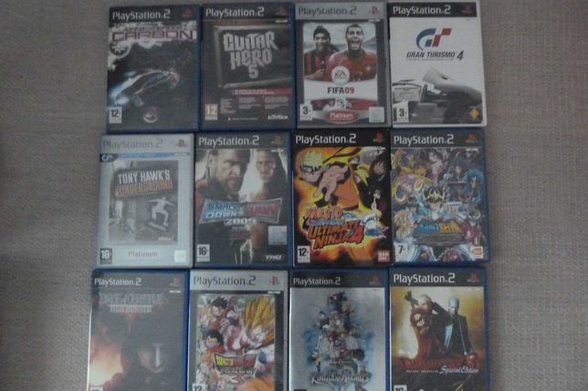 Jogos Playstation 2 PS2 (Vários)