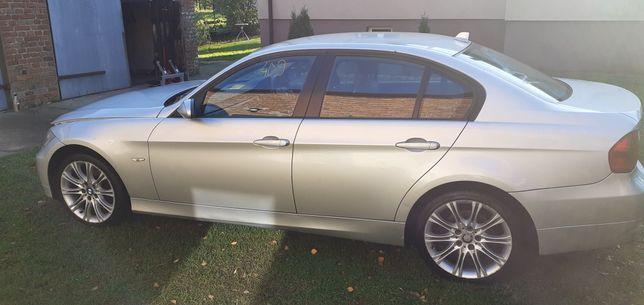 BMW e90 drzwi lewy tył titanisilber 354