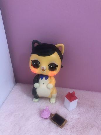 Lol Suprise zwierzątko interaktywne kotek l.o.l suprice