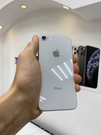 Iphone 8 256GB Silver Гарантия/Neverlock/Рассрочка/Магазин