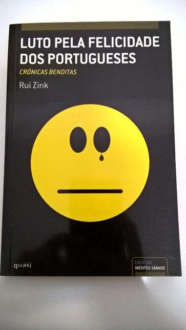 Luto pela felicidade dos Portugueses - Rui Zink (portes incluídos)