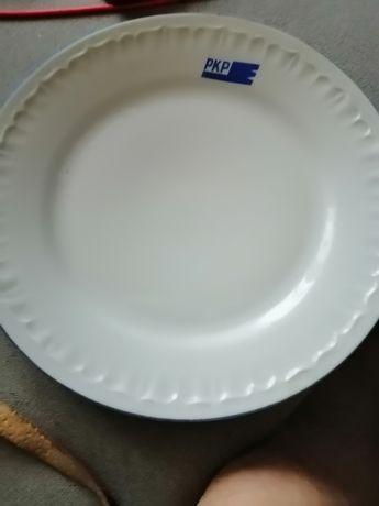 Porcelana głęboki talerz do zupy kolejowej.