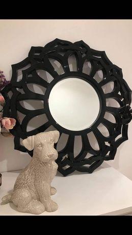 Espelho preto lacado Novo