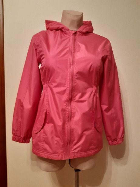 Różowa kurteczka na 14 lat - rozmiar 164 cm.