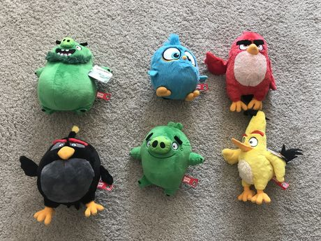 angry birds continente peluches
