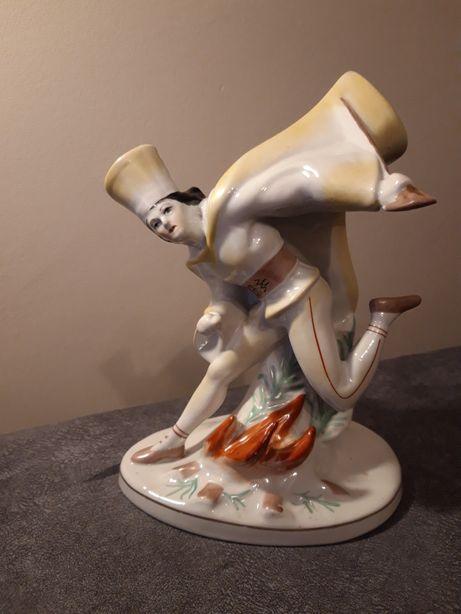 Figura Janosik Ćmielów porcelana PRL vintage