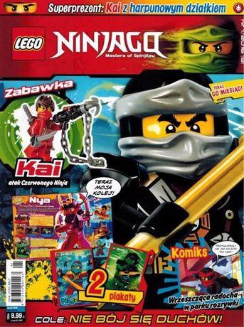 Zestaw Gazetek Lego Ninjago Star Wars Chima Plakaty Zadania Rebusy!