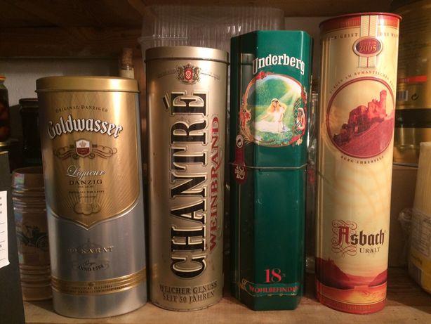 Puszki na alkohol ouzo whisky puszki