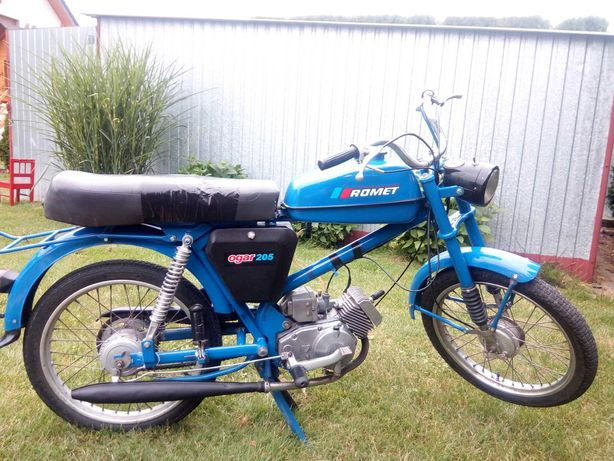 Motorower Ogar 205 niebieski.