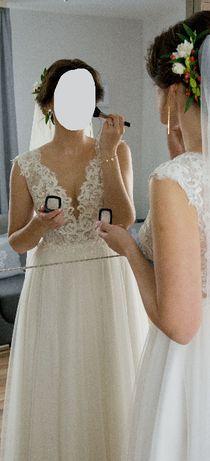 Suknia ślubna Herm's bridal Cordoba rozmiar 38