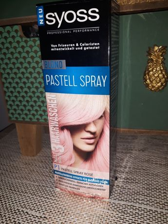 Syoss blond rose pastell spray