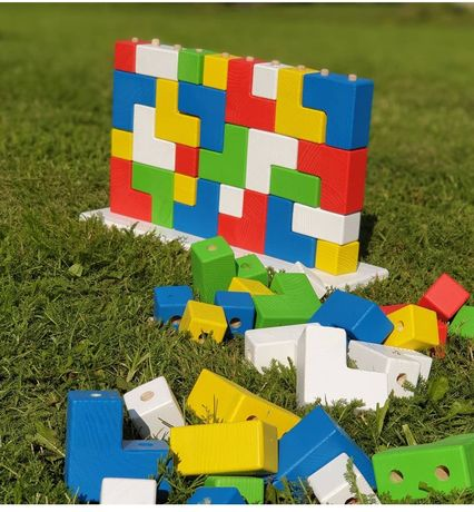Іграшка дерев'яна головоломка, ручна робота