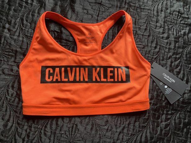 Biustonosz top sportowy CK Calvin Klein Performance M nowy