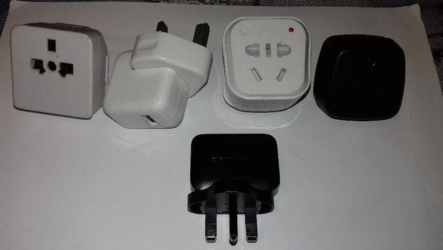 Angielskie ładowarki USB