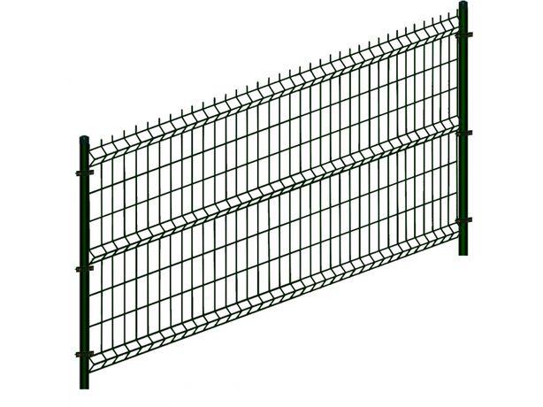 Ogrodzenia panelowe 3D fi 4mm 2.5m x 1.2m panel ogrodzeniowy panele