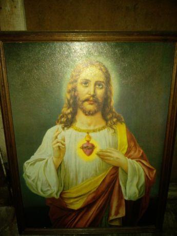 Quadro jesus antigo