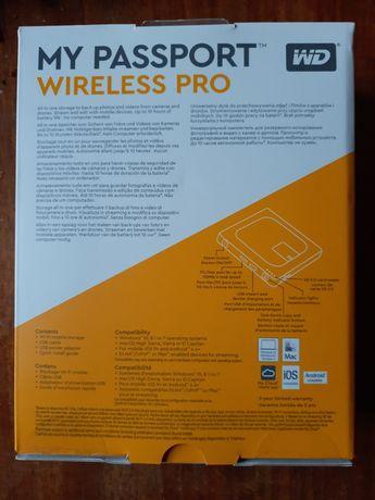 Nowy WD MY PASSPORT Wireless PRO 3TB dysk z wifi