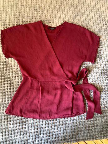 Блуза на запах. Розмір: 8