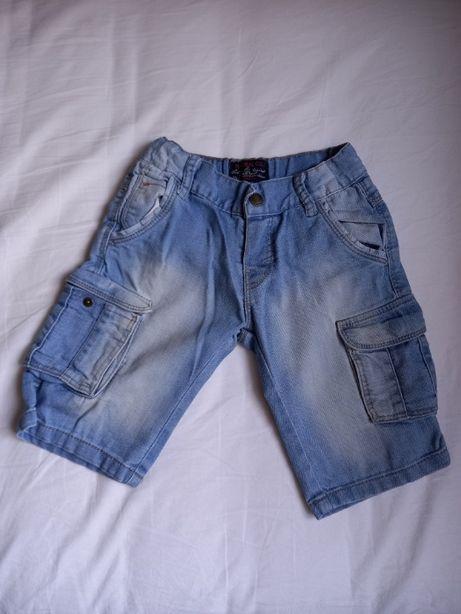 Krótkie spodenki jeansowe Mayoral chłopięce