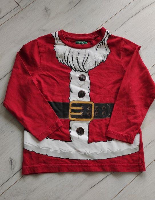 T-shirt na długi rękaw świąteczny r. 92/98 Wołomin - image 1
