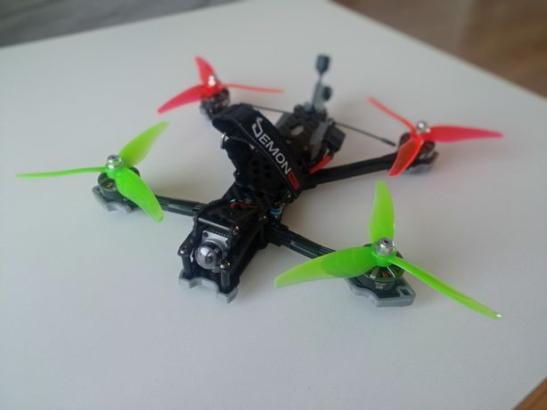 "Dron 5"" freestyle HD ! Dji air unit EMAX 2306 mamba stack F405 MKII"