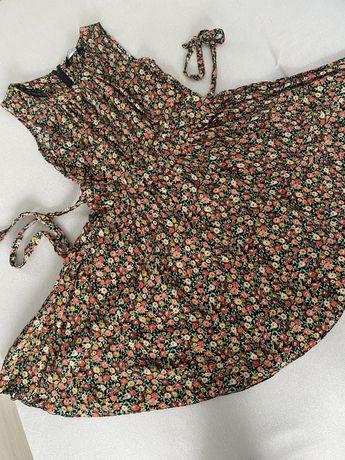 Sukienka w kwiaty z koła Dorothy Perkins