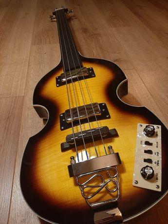 Gitara basowa Harley Benton BeatBass Vintage Series